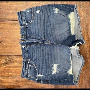 Jean shorts size 17